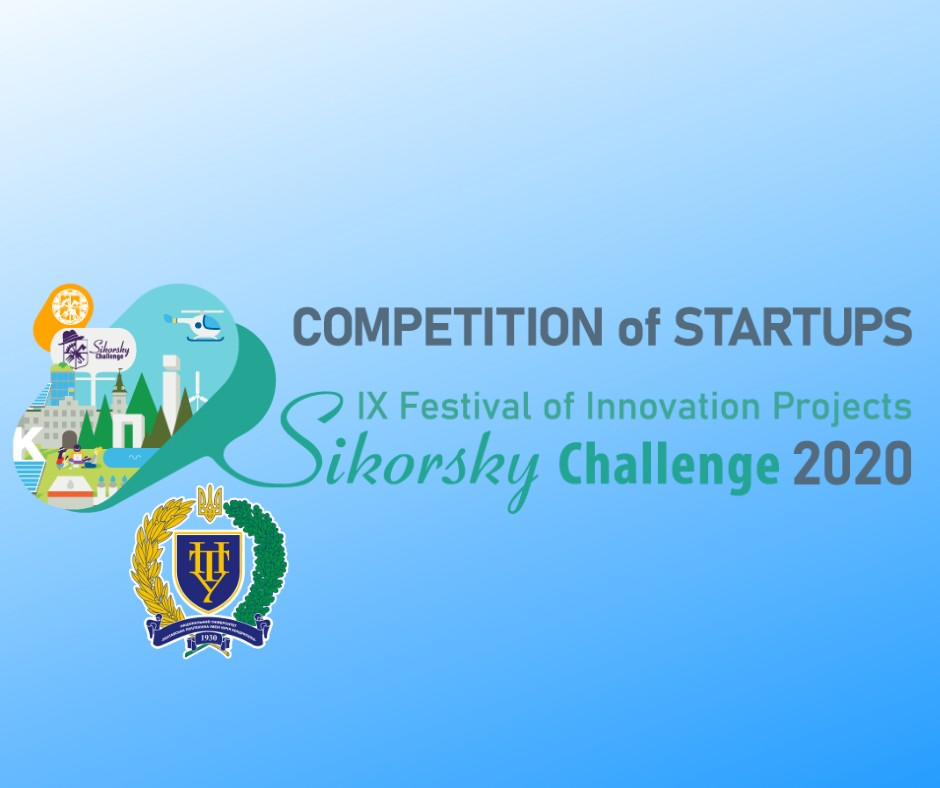 Sikorsky Challenge 2020: Vice Rector of Poltava Polytechnic Evaluates Projects at Competition of Startups