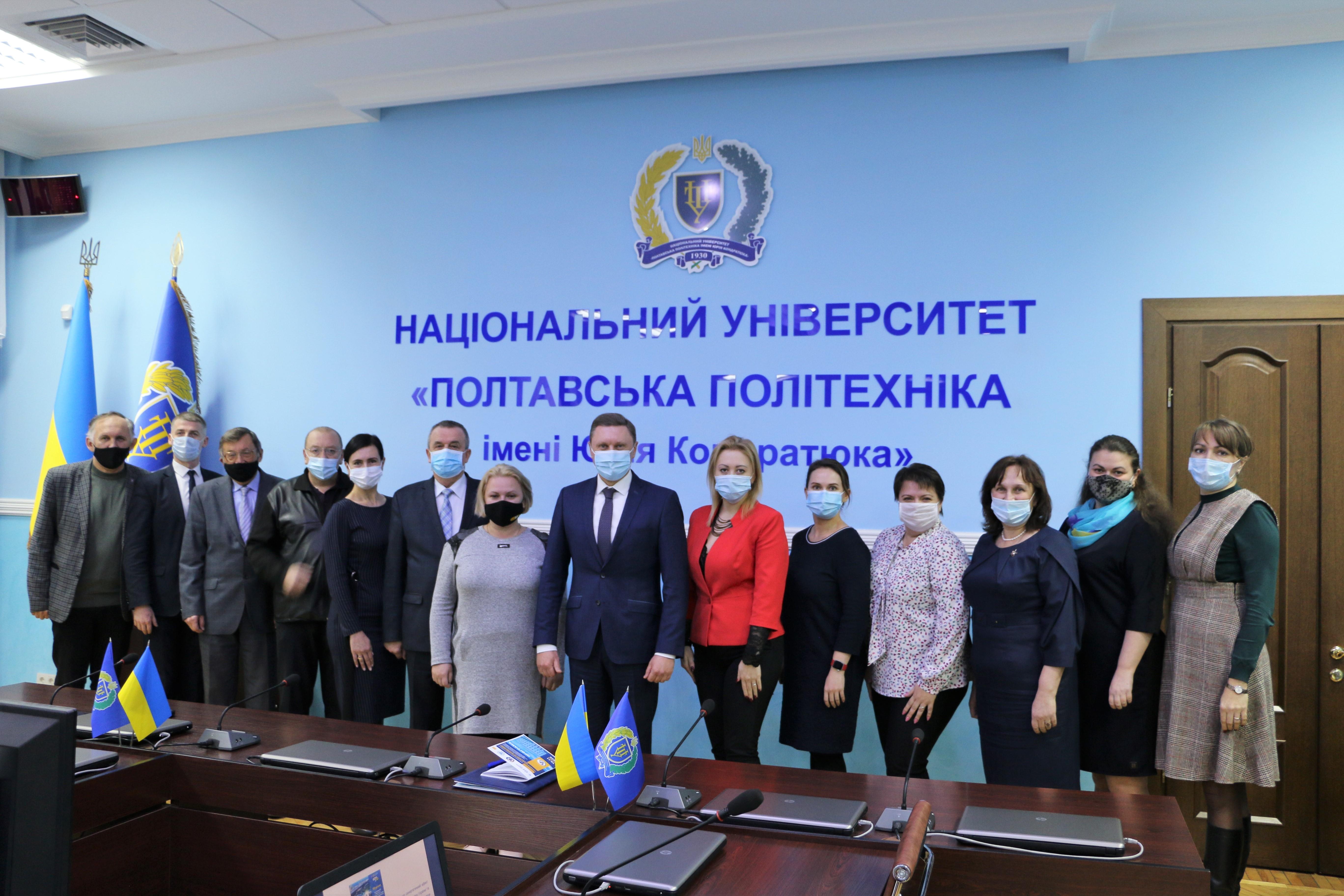 Президент і академіки НАН України привітали Полтавську політехніку з ювілеєм!