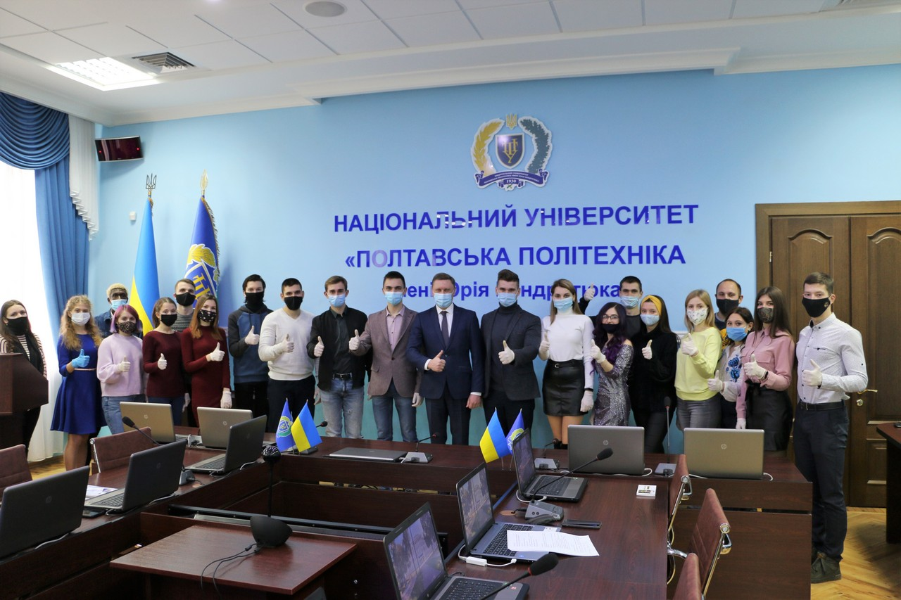 Students of Polytechnic Awarded for Achievements in Studying and Extracurricular Activities