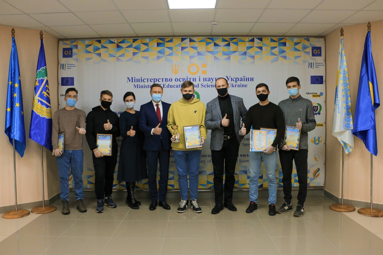Students - E-Sports Players Win at Poltava Cyber Cup'20
