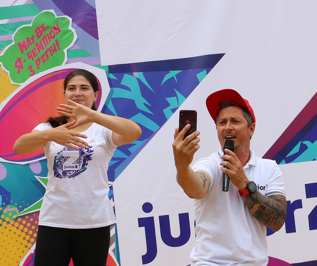 Телеведучий і шоумен Олександр Педан привітав університет з історичною подією