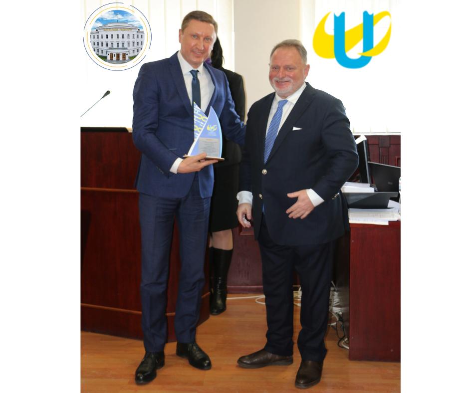 Ректора політехніки нагороджено за розвиток студентського спорту у Полтавській області